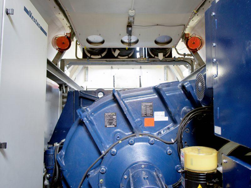 Brandschutz für Windkraftanlagen
