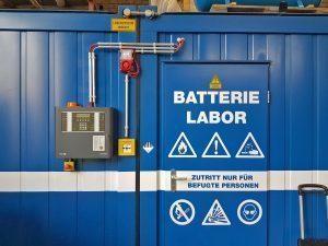 Löschsysteme für Batterien