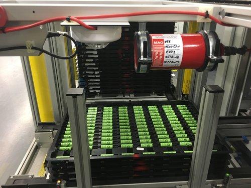 Feuerlöschsysteme für Batterien
